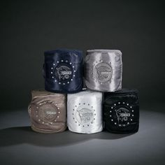 Eskadron Platinum Collection Fleece Wrap Bandages (Set of 4) - Pikeur