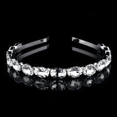 Wedding Bridal Bridesmaid Tiara Crown Headband Princess Girls Shine Crystal  Rhinestone Hair hoop Jewelry for Women 5936f7ba4b5e