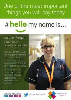 #hellomynameis... Justine Morgan