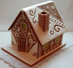 Gingerbread House Designs, Gingerbread Village, Gingerbread Decorations, Christmas Gingerbread House, Christmas Sweets, Christmas Cooking, Gingerbread Cookies, Holiday Fun, Christmas Crafts