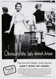 Vintage Gender Advertisements of the 1950s
