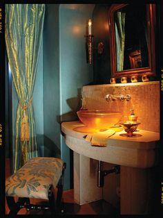 Eclectic Powder Room Design, Pictures, Remodel, Decor and Ideas - page 3