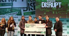 The Emotion Journal wins the Disrupt London 2016 Hackathon Grand Prize