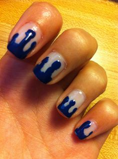 How to Create Dripping Nails