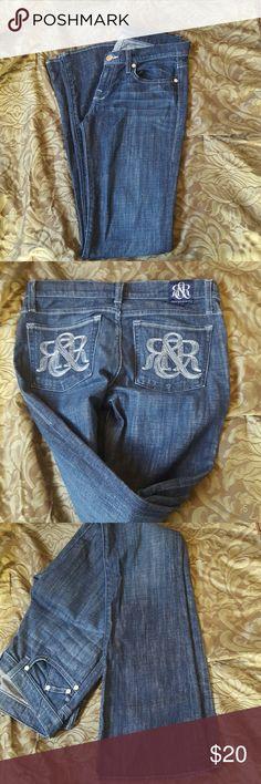 Rock&Republic Jeans Beautiful and great condition light flare jeans Rock & Republic Jeans Flare & Wide Leg