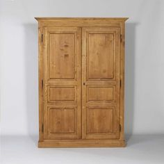 Meuble Armoire Demontable Pin Massif 2 Portes  |  N95 MADE IN MEUBLES