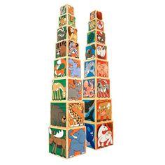 Melissa & Doug® Wooden Animal Nesting Blocks : Target