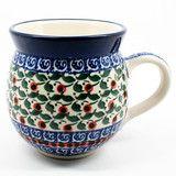Ceramika Artystyczna Ladies Bubble Mug #1543 | PolishKitchenOnline | Polish mugs, plates, bakeware and more Polish pottery