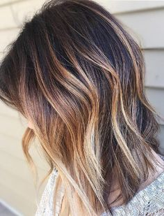 Pretty Good Hair Color Ideas for Medium Hairstyles 2018