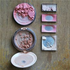 How to fix up old broken makeup and REUSE it!