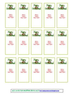 Mini Grinch Candy Bar Wrappers (FREE)