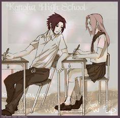 English Naruto Konoha High School | naruto! 'Konoha High School'>>Коноха Гакуен