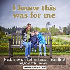 Think you know Forever? Think again. Discover 'I knew this was for me'. #FacesOfForever http://wu.to/XTWUEf