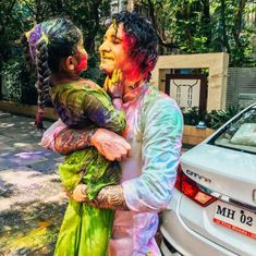 The best Holi with family!! Nothing pretty or delicate about it. Nisha, Asher and Noah unleashed and did what they are suppose to! Just had… Beginning Of Spring, Hindu Festivals, Holi, Delicate, Pretty, Start Of Spring, Holi Celebration