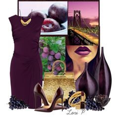 """Perfect Plum"" by luvtodesign on Polyvore"
