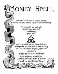 We could all do with some extra cash. Here is a simple money spell to cast when you're in need of a Powerful Money Spells, Money Spells That Work, Spells That Actually Work, Witchcraft Spell Books, Wiccan Spell Book, Witchcraft Spells For Beginners, Healing Spells, Hoodoo Spells, Magick Spells