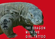 Funny Dragon With Girl Tattoo