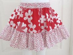 Easy Peasy Summer Skirt (Free Sewing Pattern), 2 to 10 Years