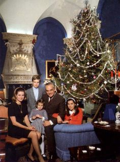 1969  That next year, Grace had her friend and photographer Howell Conant capture some Christmas photos of the family, which hopefully meant there was a more delightful card in their friend's mailboxes that year.