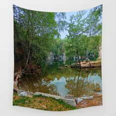 Romantic moments at the lake Quarry Lake, Romantic Moments, Wall Tapestry, In This Moment, Tapestries, Water, Photography, Outdoor, Products