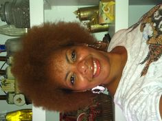 My Fro!!