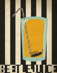 Beetlejuice Poster by HaddonArt on DeviantArt
