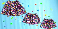 Easy skirt for girl - the tutorial of Lili Chee Maman Bricole - sewtut Coin Couture, Baby Couture, Couture Sewing, Diy Maxi Skirt, Handmade Skirts, Sewing For Kids, Sewing Tutorials, Skirt Tutorial, Recherche Google
