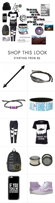 """This One Goes Out To My Closest Friends"" by nightsirensss ❤ liked on Polyvore featuring NOVICA, Hot Topic, Blink, Vans and Casetify"