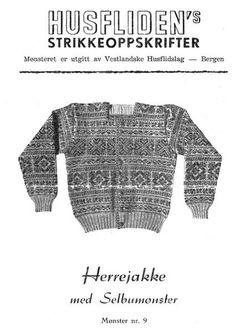 Husfliden 9 Herrejakke med Selbumønster