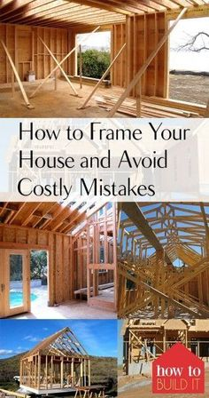 How To Frame Your House And Avoid Costly Mistakes U2013 How To Build It  How To  Frame Your House, DIY Home, DIY Home Improvement, DIY Home Remodeling, ...