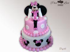 Torta Mini Maus (Minnie Mouse torta) #MinnieMouseCake #MinnieMouseTorta
