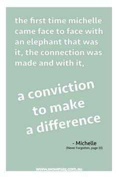 #read Michelle's #advernture Saving Sumatra's Forgotten #Elephants online now. #mirages #wow #magazine #adventure