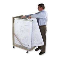 Premium brand drop lift blueprint wall rack dlwc by premium mobile rack malvernweather Images
