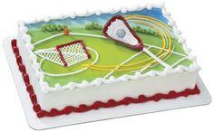 Lacrosse cake!