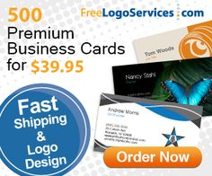 500 Professional Business Cards - Great Deal!