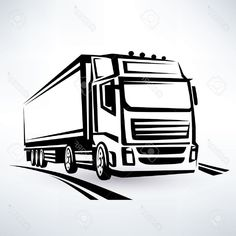 Toyota Usa, Truck Coloring Pages, Truck Decals, Dump Trucks, Label, Black And White, Logo T Shirts, Old Trucks, Shop Logo