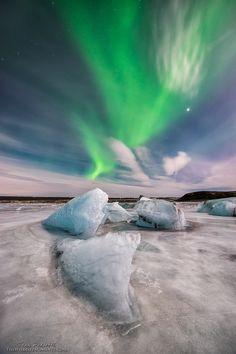 Aurora night by Ivan Pedretti  on 500px