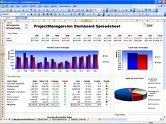 Role of excel dashboard project management spreadsheet template in Eg9zOoEI
