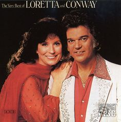 """The Very Best of Loretta Lynn and Conway Twitty contains the duo's 14 biggest hits, including the number one singles """"After the Fire is Gone,"""" """"Lead Me On,"""" """"Louisiana Woman, Mississippi Man,"""" """"As Soo"""