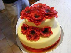 Piros virágos