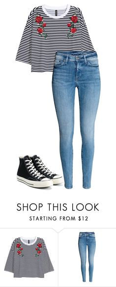 """Untitled #135"" by i0119 on Polyvore featuring Converse"
