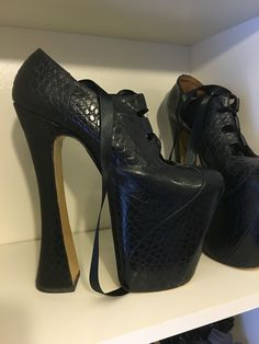Shoe cleaning day, just taking a moment to appreciate these beauties, Vivienne Westwood super elevated shoes, luv these