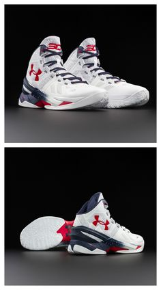 For those proud to rep red, white, and blue, this Under Armour Curry 2 was made for you.