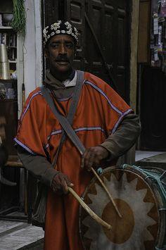 Moroccan drummer