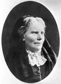 Elizabeth Blackwell - fue la primera mujer que logró ejercer la profesión como médico en los Estados Unidos y en todo el mundo.