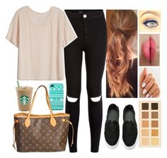"""""""Alisha Marie inspired outfit"""" by preshnimahanta ❤ liked on Polyvore featuring Fine Collection, LORAC, Louis Vuitton, women's clothing, women, female, woman, misses and juniors"""
