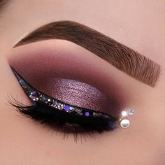"- NABLA Cosmetics (@nablacosmetics) on Instagram: ""Purple bling ✨ @_makeupbyann Pinterest: miathegemini1"