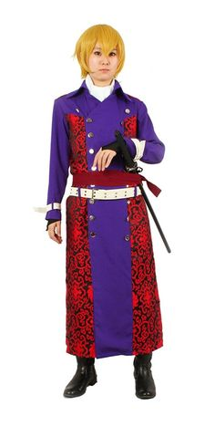 Milica Books Hakuouki Chikage Kazama Cosplay Costume Size L * More info could be found at the image url.