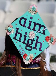 #AimHigh Graduation Cap