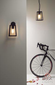 Astro Lighting Calvi Outdoor Pendant Light Black - 7112